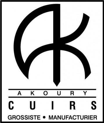 Cuirs Akoury logo