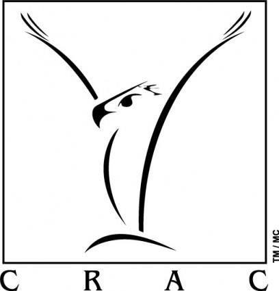 free vector Crac logo