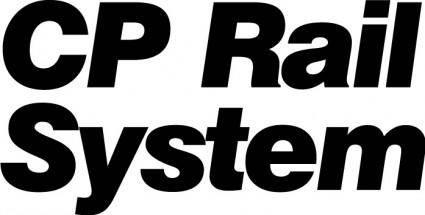 free vector CP rail system logo