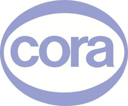 free vector Cora logo