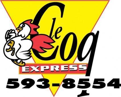 Coq Express logo