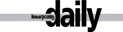 Commersant Daily magazine