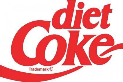 free vector Coke Diet logo