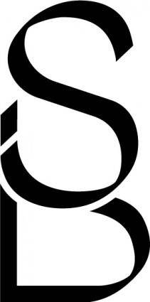free vector Coiffure SB logo