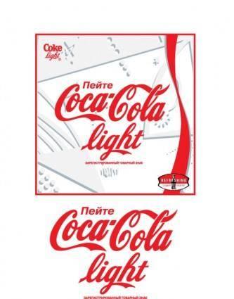 free vector Coca-Cola Light