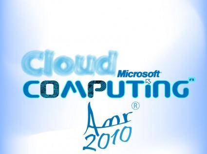 free vector Cloud Computing