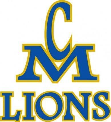 free vector CM Lions logo