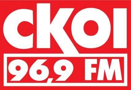 free vector CKOI radio logo