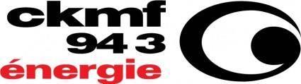 CKMF radio logo