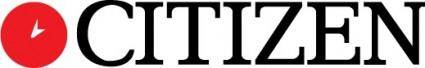 free vector CITIZEN watch logo