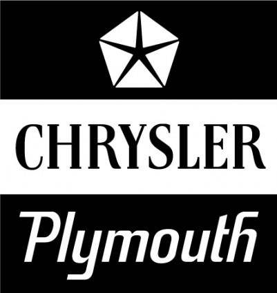 free vector Chrysler Plymouth logo