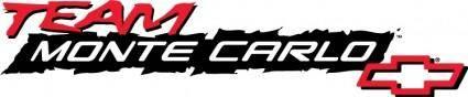 free vector Chevrolet Team Monte Carlo