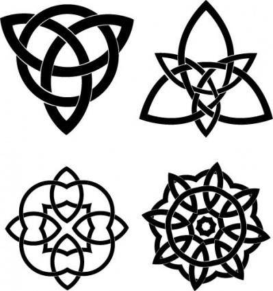 free vector Celtic Knots Vector Set