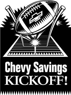 free vector Chevrolet Savings Kickoff