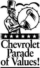 free vector Chevrolet Parade of Values