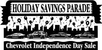 free vector Chevrolet Independence Day