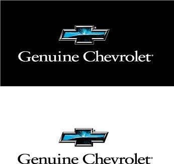 free vector Chevrolet Genuine logo