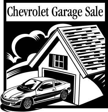 Chevrolet Garage Sale logo