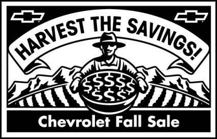 free vector Chevrolet Fall Sale logo2