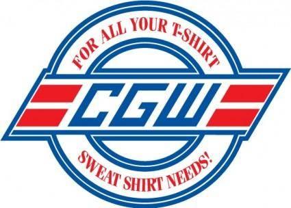 free vector CGW logo