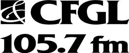 free vector CFGL radio logo