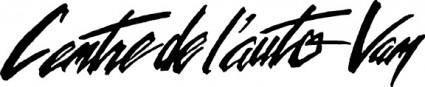 free vector Centre de lauto van logo