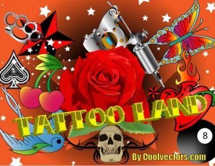 free vector Tattoo Vectors Pack