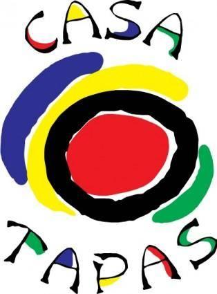 free vector Casa Tapas logo
