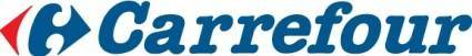 free vector Carrefour logo