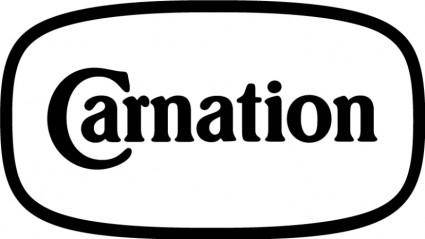 free vector Carnation logo