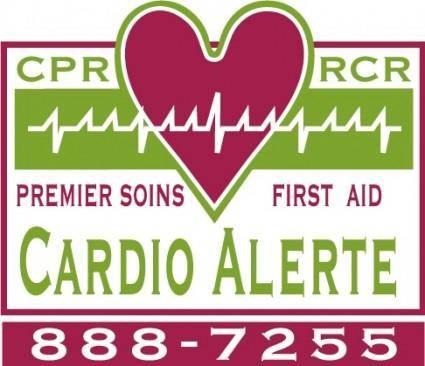 free vector Cardio Alerte logo