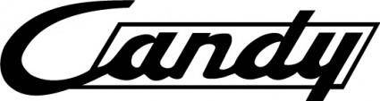 free vector Candy logo