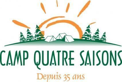 free vector Camp Quatre Saisons