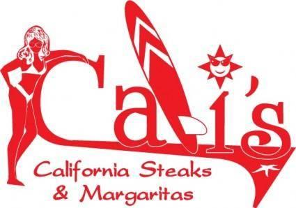free vector California Steacks logo