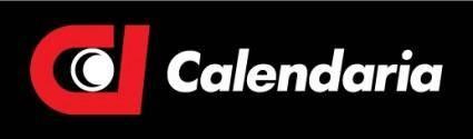free vector Calendaria logo
