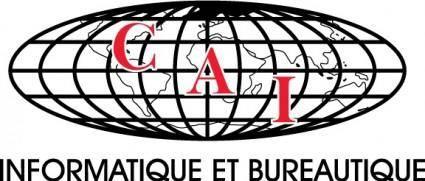 free vector CAI Informatique logo