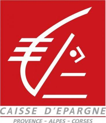 free vector Caisse dEpargne logo