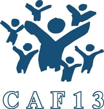 free vector CAF 13 logo