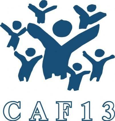 free vector CAF 13 logo