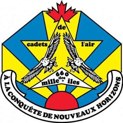 free vector Cadets de lair logo