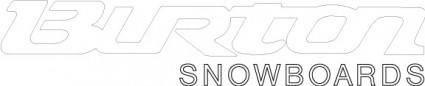 free vector Burton Snowboards
