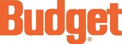 free vector Budget logo