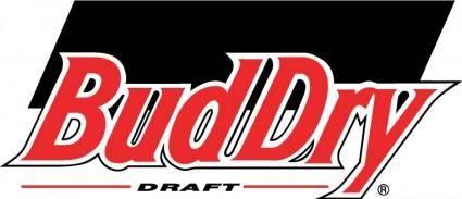 free vector BudDry draft logo