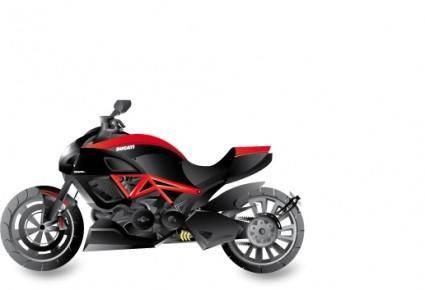 free vector Ducati Diavel Motorcycle Vector