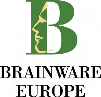 free vector Brainware Europe logo