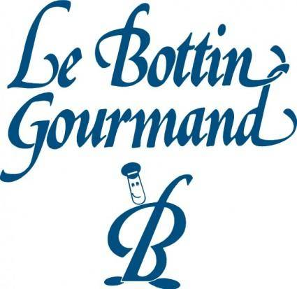 free vector Bottin Gourmand logo