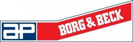 free vector Borg&Beck logo