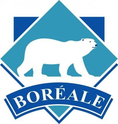 free vector Boreal logo