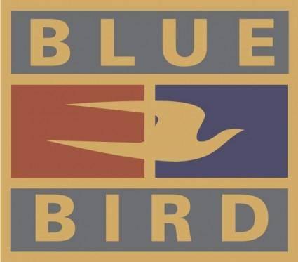 free vector Blue Bird logo