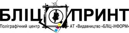 free vector Blitz Print logo